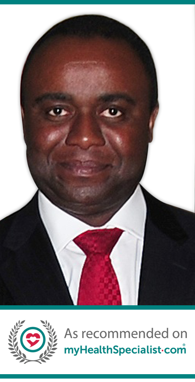 Mr Colin Nnadi FRCS(Orth), Consultant Spine Surgeon