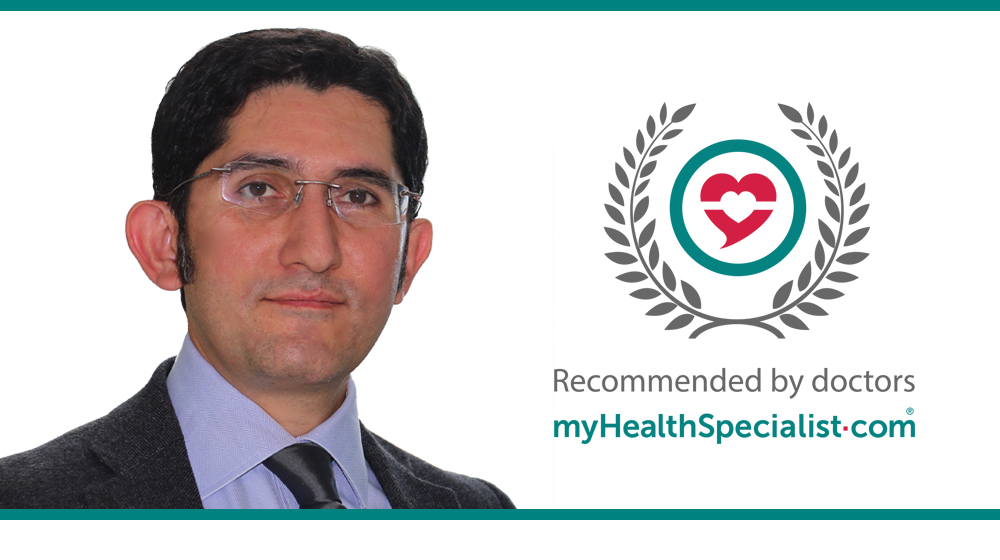 Mr Nima Heidari, Consultant Orthopaedic Surgeon