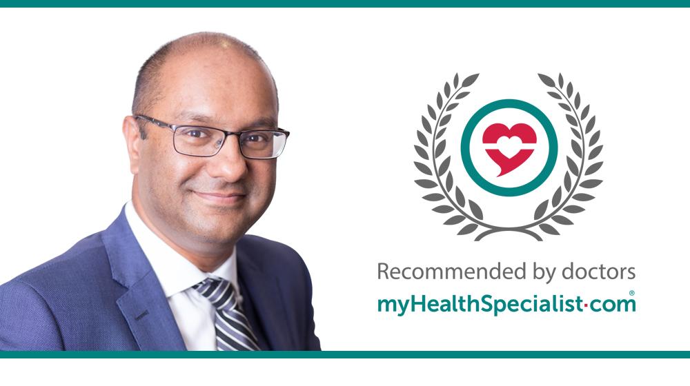 Mr Bob Chatterjee, Orthopaedic Surgeon